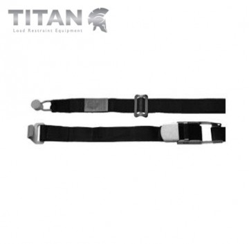 Internal Cargo Strap with Bobbin and Combi Hook 4.5M