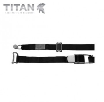 Internal Cargo Strap with Bobbin and Rave Hook 4.5M