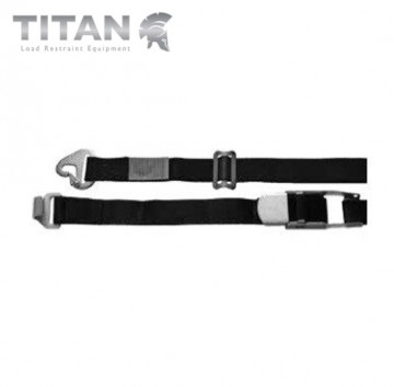Internal Cargo Strap Snaphook with Combi Hook 4.5M