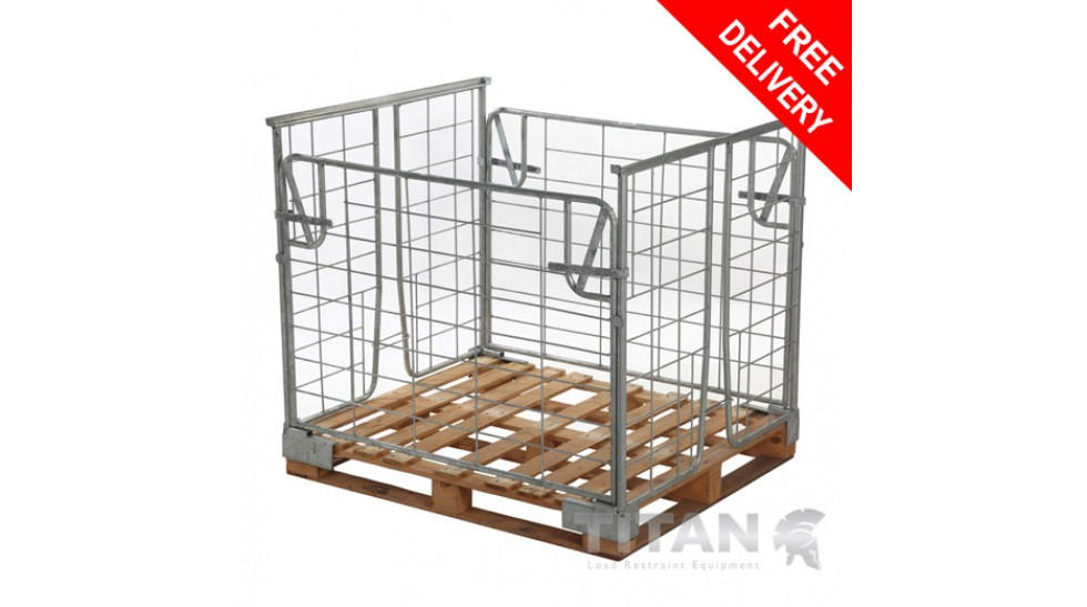 Everything you need to know about pallet cages and how they can transform the workplace