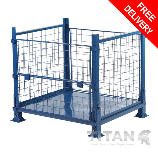 Cage Pallet Stillage (Collapsible)