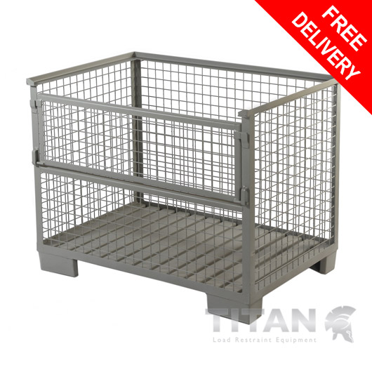 Rigid Cage Pallet Stillage 970mm(h) x 1240mm(w) x 835mm(d)