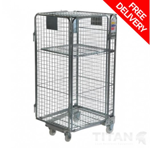 Roll Container Full Security Nestable 'A' Frame