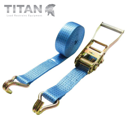 5000kg Heavy Duty Ratchet Straps Claw Hook - 8Metre
