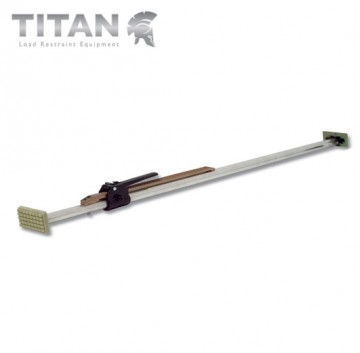 Ratcheting Cargo Bar Adjustment Range 2.3m - 2.6m