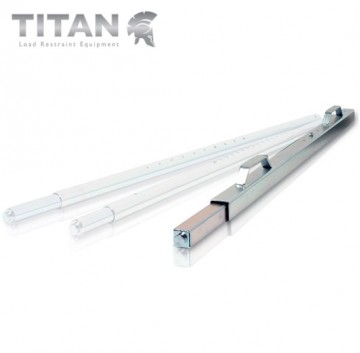 Square Spring Loaded Shoring Bar Adjustable 2.1m to 2.53m Length