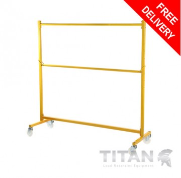 Heavy Duty Clothes Rail (Industrial) Yellow