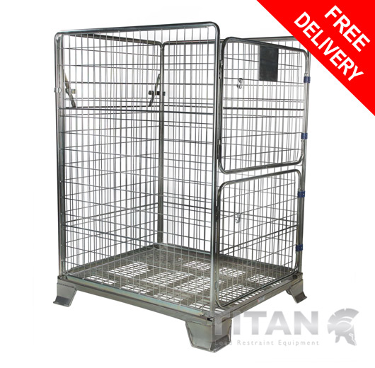 Heavy Duty Parcel Cage 1705mm(h) x 1000(w) x 1200mm(d)