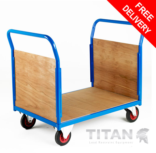 Platform Truck Double End Plywood