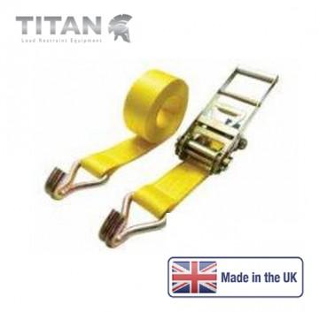 10 Tonne Ratchet Strap Claw Hooks 6Metres