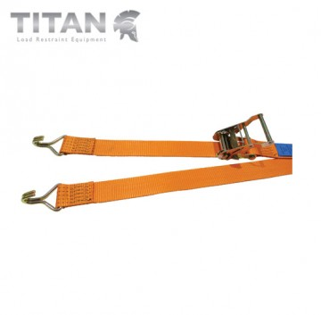 Internal Box Van Ratchet Strap with Claw Hooks 2000kg