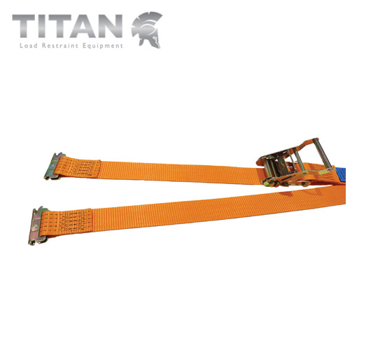 Internal Box Van Ratchet Strap with E-Track End Fittings 2000kg