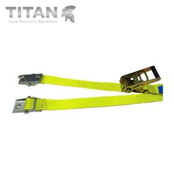 Internal Box Van Ratchet Strap with Two Pin Shoe Fittings 3000kg