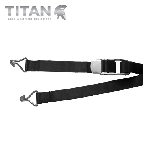 Internal Box Van Strap Standard Buckle with Claw Hooks 700kg