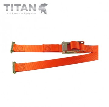 Internal Box Van Strap with E-Track End Fittings 2000kg