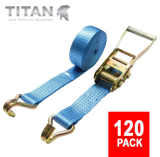 Ratchet Straps 5000kg Claw Hooks 8M Amazing Bulk Discount Offer!!!