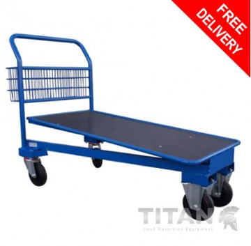 Cash and Carry Trolley (Blue) – Nestable
