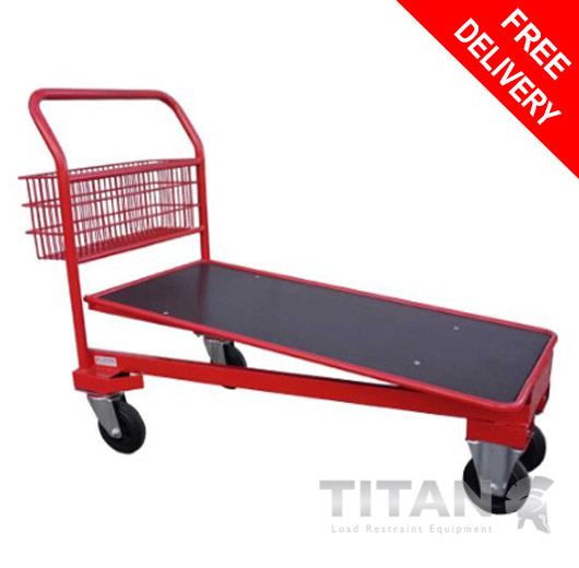 Cash and Carry Trolley (Red) – Nestable