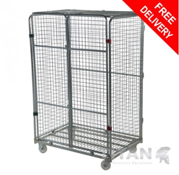 Four Sided Full Security Jumbo Roll Container