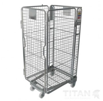 4 Sided Mesh Infill A Frame Roll Cage + Integral Shelf