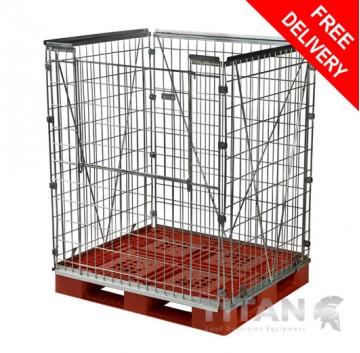Standard Pallet Retention Unit – Half Gate Access 1450mm(H)
