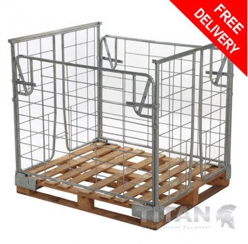 Pallet Retention Unit (Stackable) - Full Gate Access