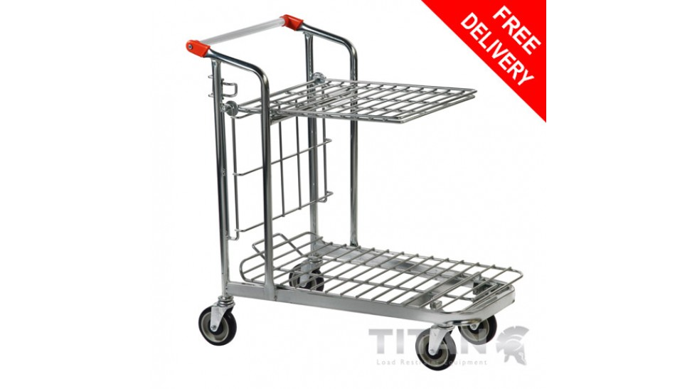 How is a stock trolley different to other types of trolley?